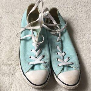 Converse mint/torquoise shoes